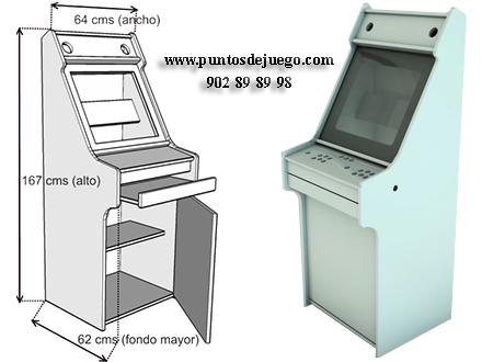 Mueble maquina recreativa sistemas de juegos interactivos for Mueble maquina recreativa