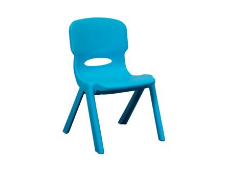 Silla azul mobiliario infantil for Silla roja y azul